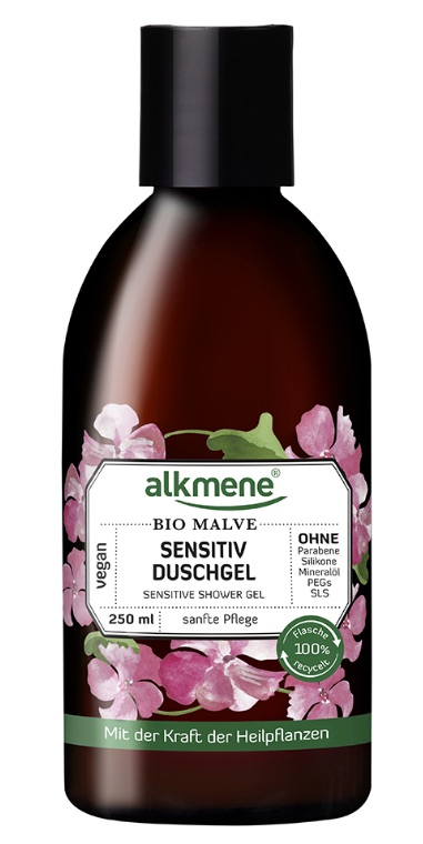ALKMENE BIO Sensitive sprchový gel - Sléz 250 ml
