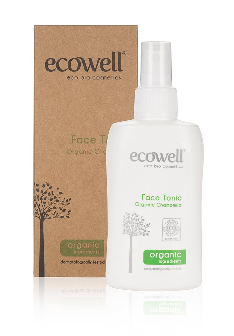 ECOWELL Čistící tonikum na obličej 150 ml