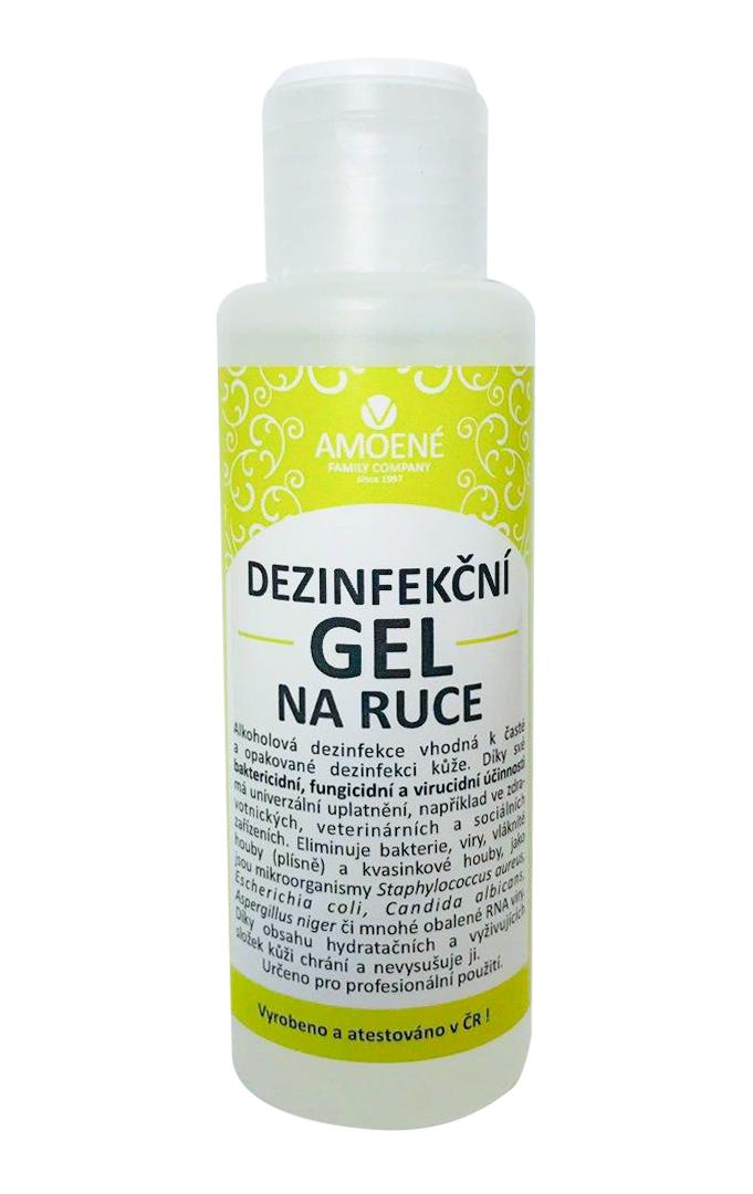 Lavosept dezinfekční gel na ruce 100 ml citron
