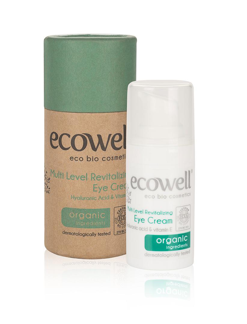 ECOWELL Revitalizující oční krém BIO, 15 ml