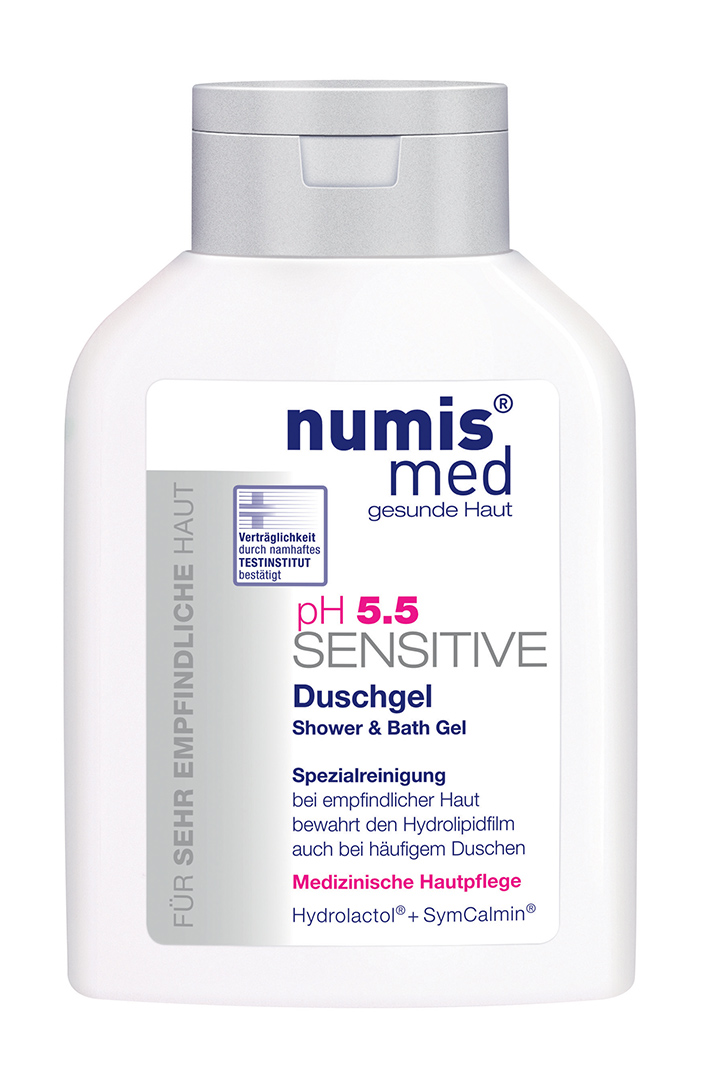 NUMIS MED SENSITIVE PH 5,5 Sprchový & koupelový gel 200 ml