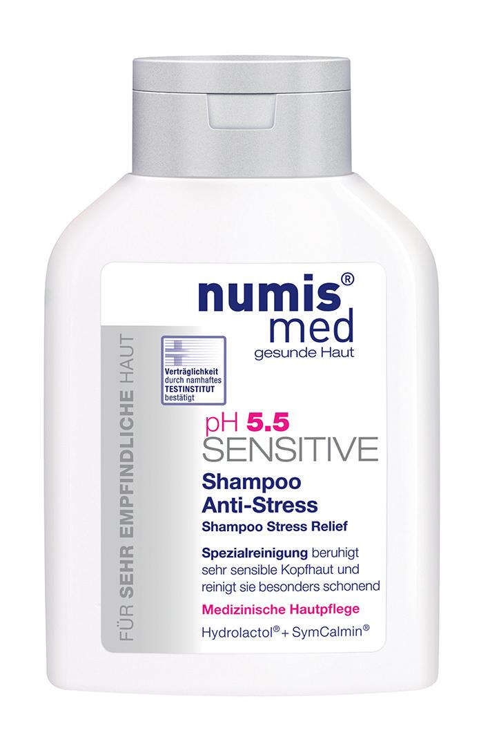 NUMIS MED SENSITIVE PH 5,5 Šampon Anti - stress - náplň 200 ml