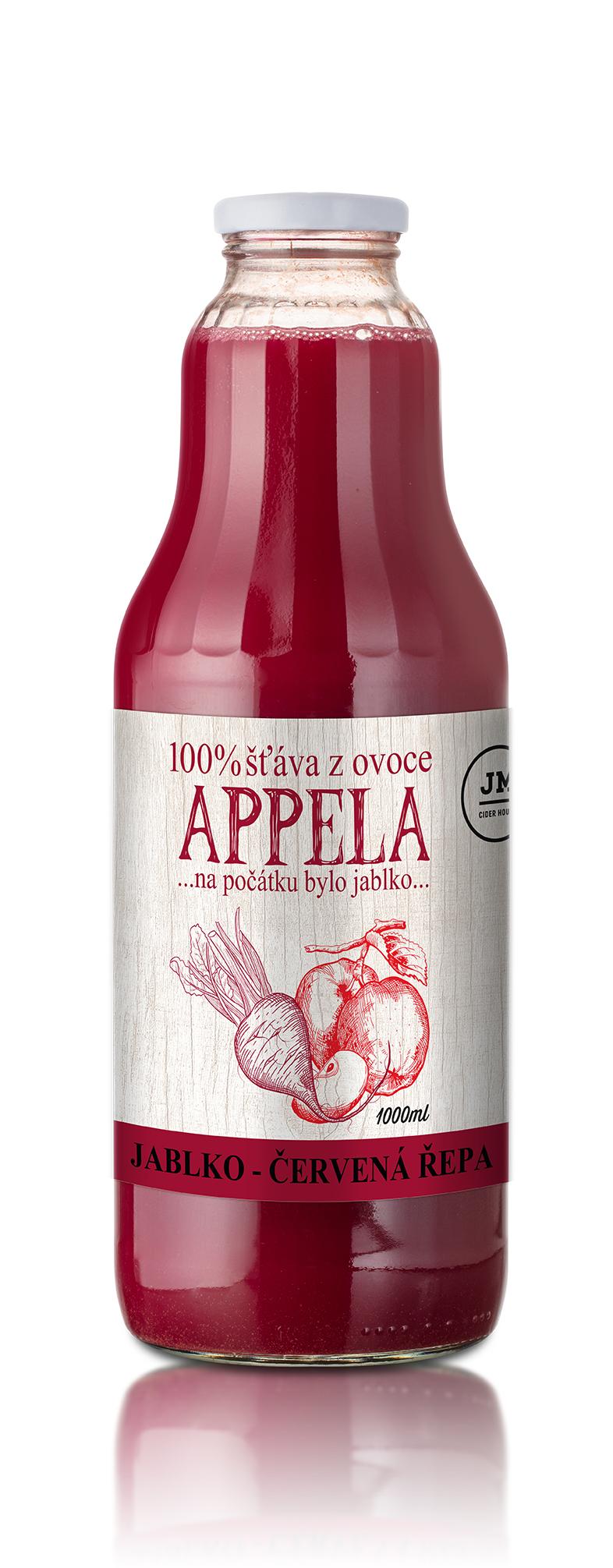 Appela, Jablko - červená řepa 1l