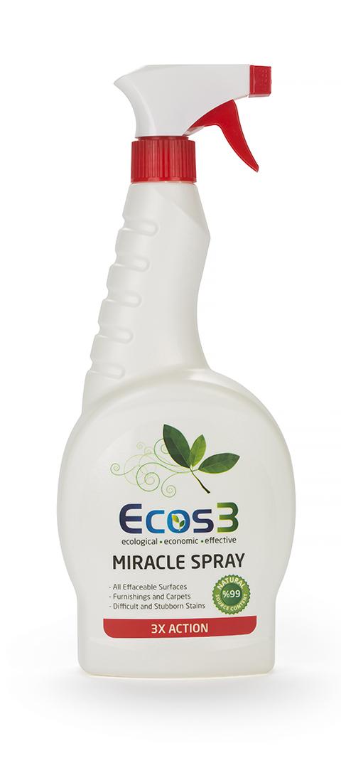 ECOS3 Zázračný spray - Univerzální čistič 750 ml