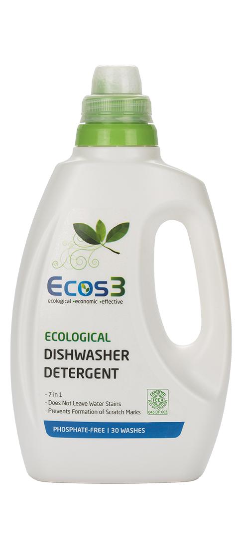ECOS3 Ekologický gel pro automatické myčky nadobí 750 ml