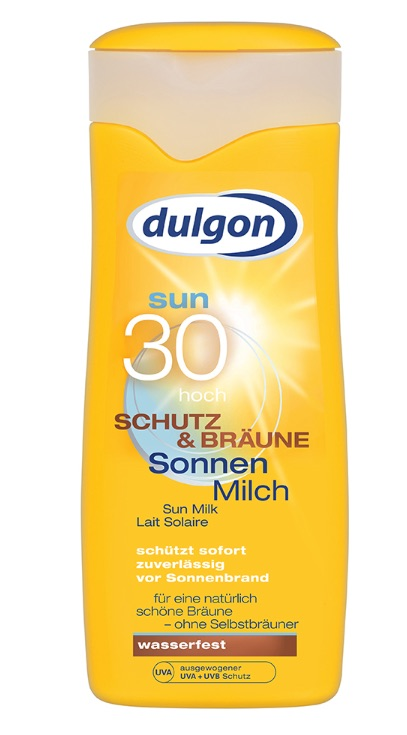 DULGON Protect & Bronze Opalovací lotion SPF 30, 250 ml
