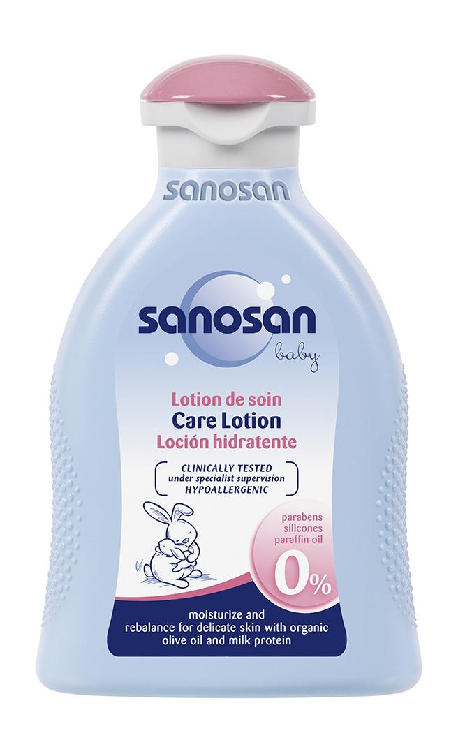 SANOSAN BABY Dětské tělové mléko 200ml