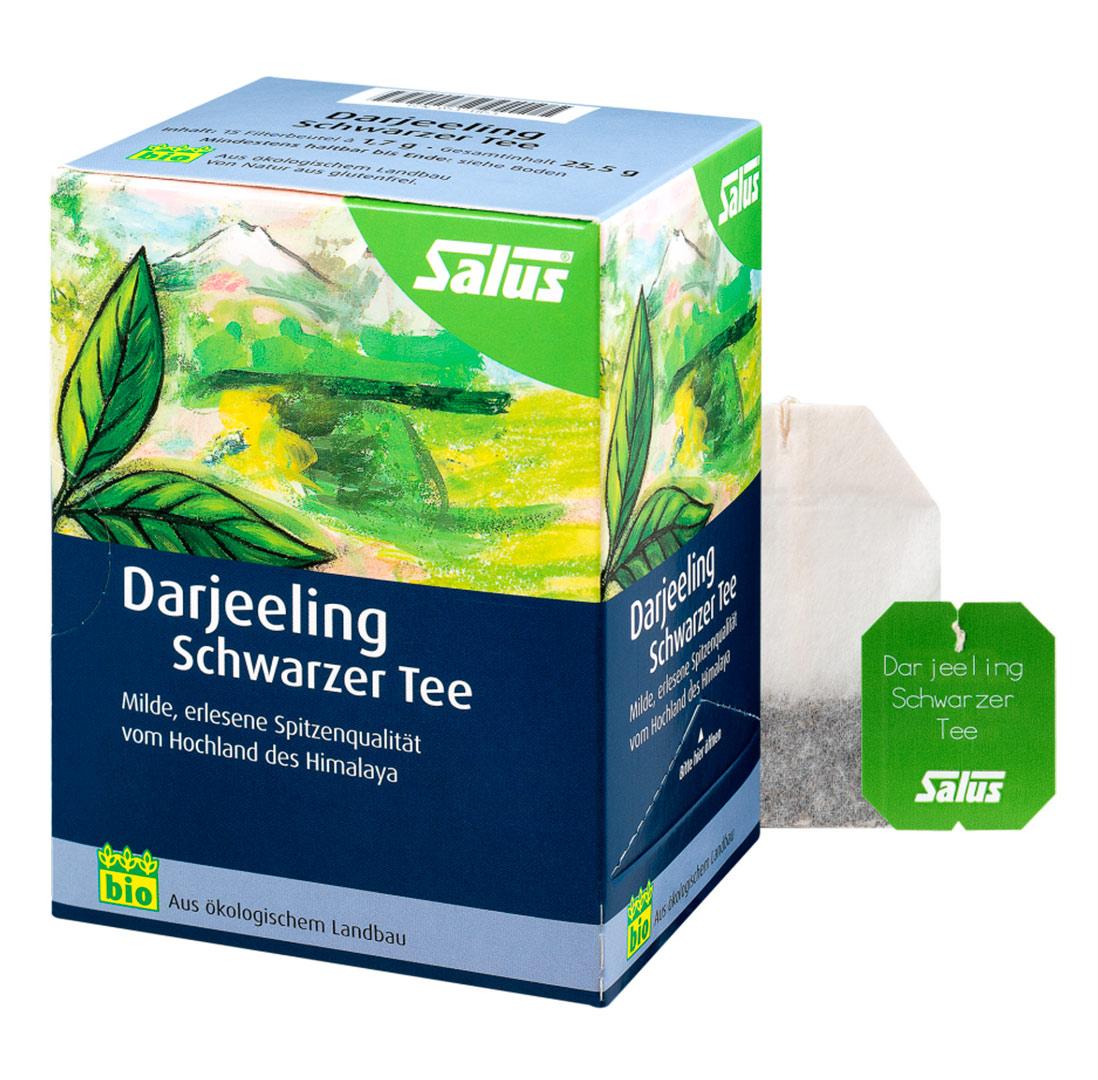 SALUS Darjeeling Černý čaj 15 sáčků