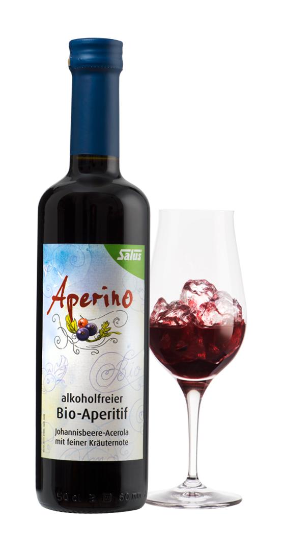 SALUS Aperino Rosso Bylinný aperitiv bez alkoholu 500 ml