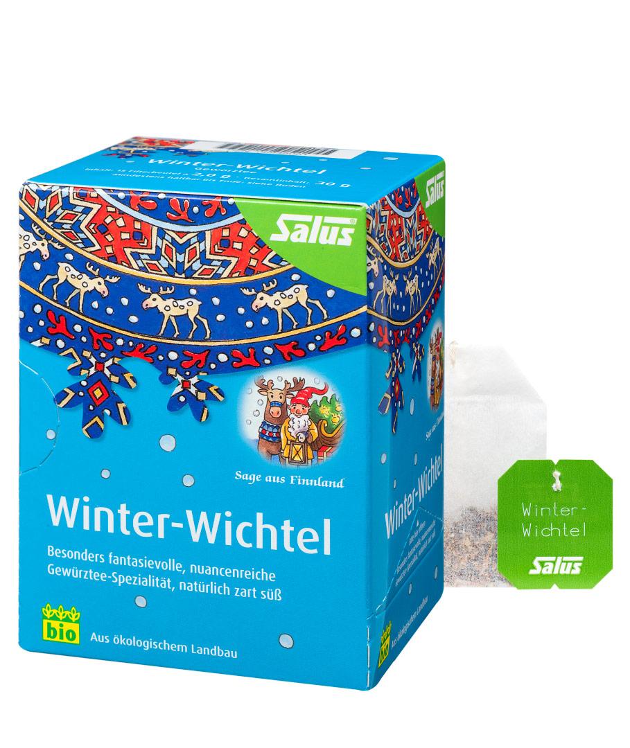 SALUS Zimní skřítek - sezonní čaj 15 sáčků