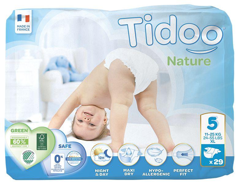 TIDOO Dětské plenky T5 - JUNIOR - 12/25kg (29ks)