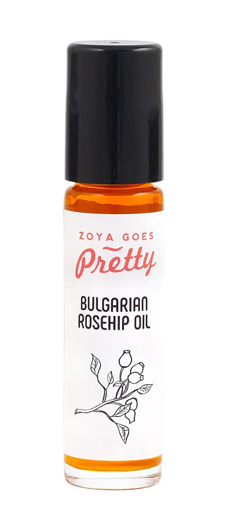 ZGP - Růžový roll-on s olejem z šípkových jadérek a olejem z Damascénské růže, 10ml