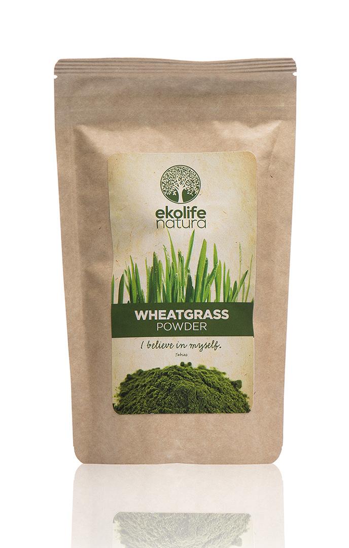 EKOLIFE NATURA Zelená pšenice - prášek 150g