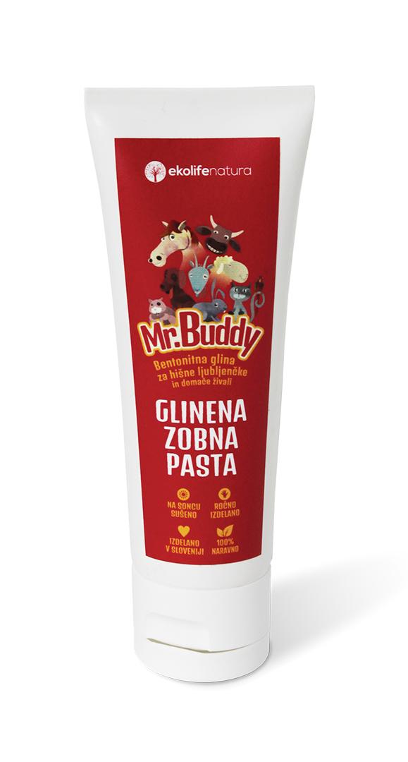 Mr. BUDDY Jílová zubní pasta 90g - přípravek pro zvířata