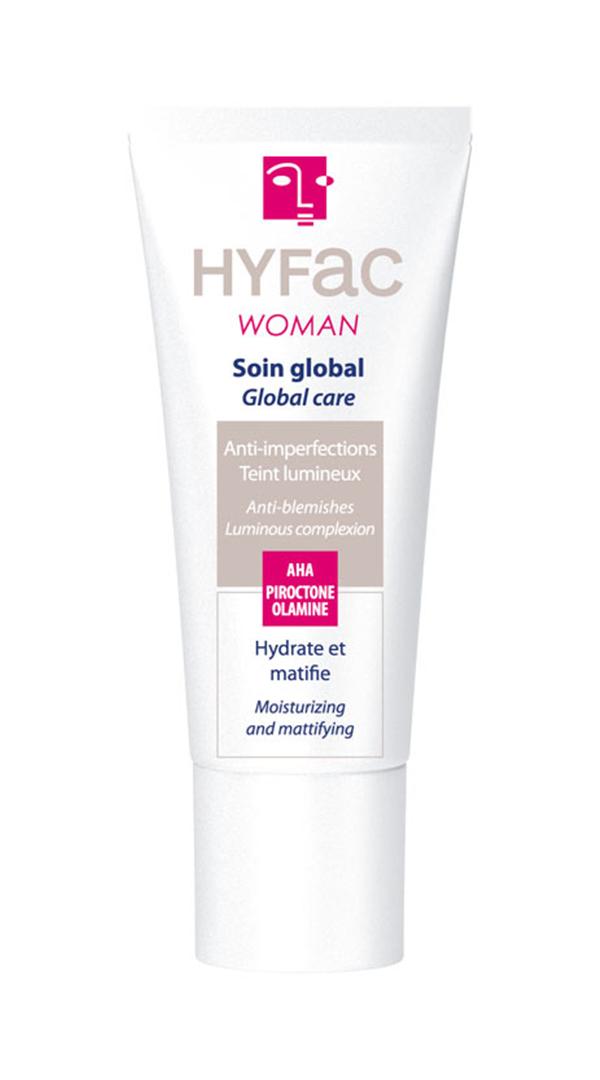 HYFAC WOMAN Global ošetřující krém na akné 40 ml