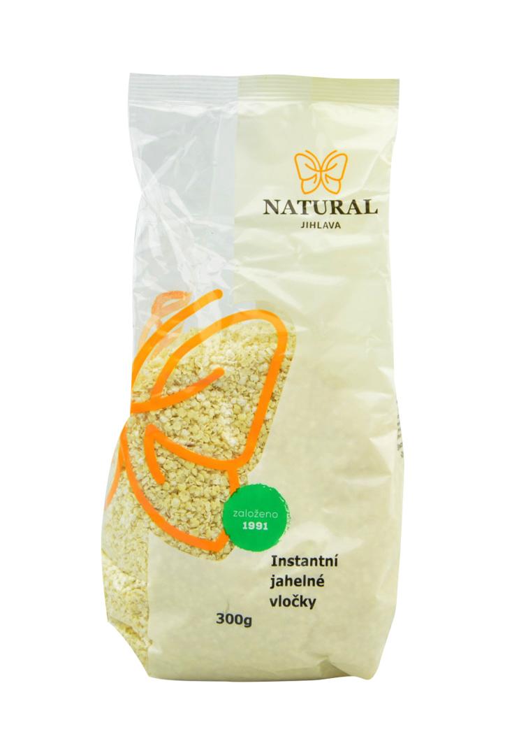 Jáhelné vločky instantní Natural 300 g
