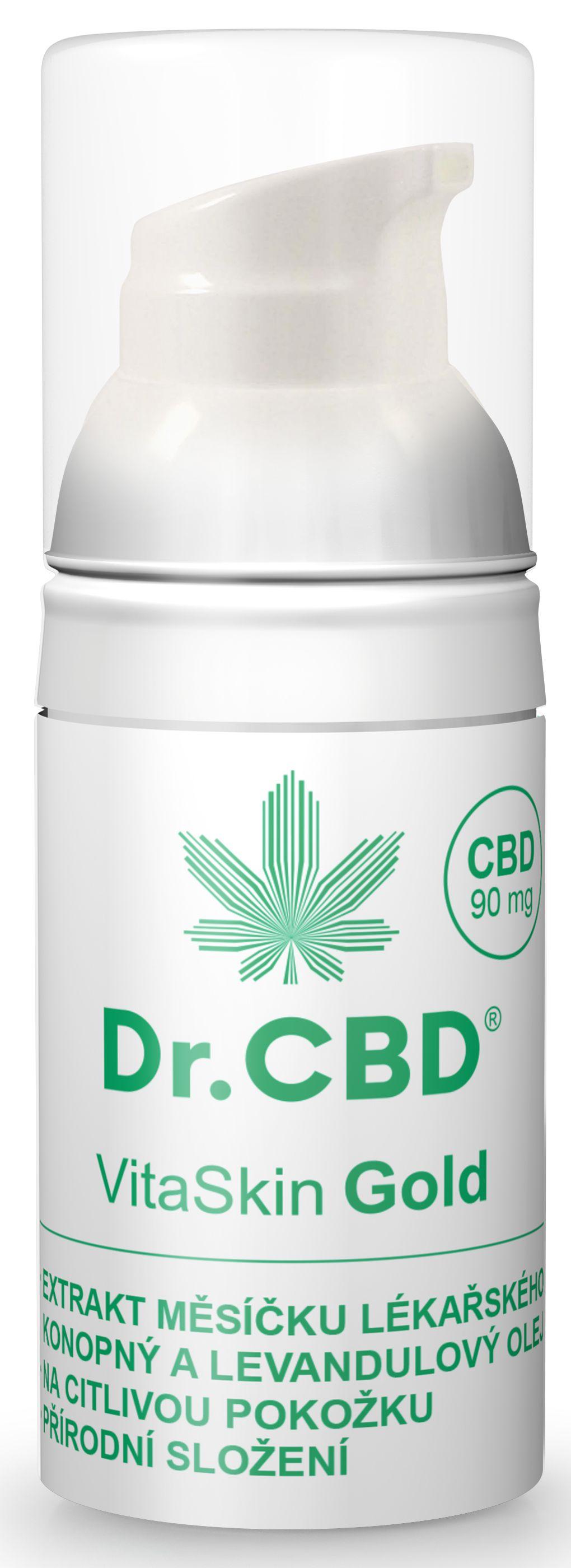 Dr. CBD VitaSkin Gold balzám 30 ml