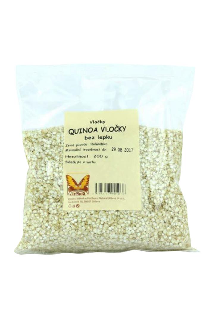 Quinoa vločky bez lepku Natural 200 g