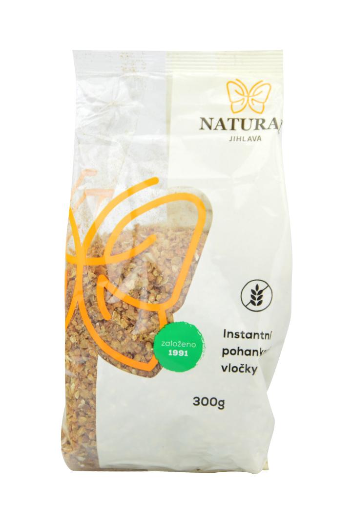 Pohankové vločky instantní tmavé Natural 300 g