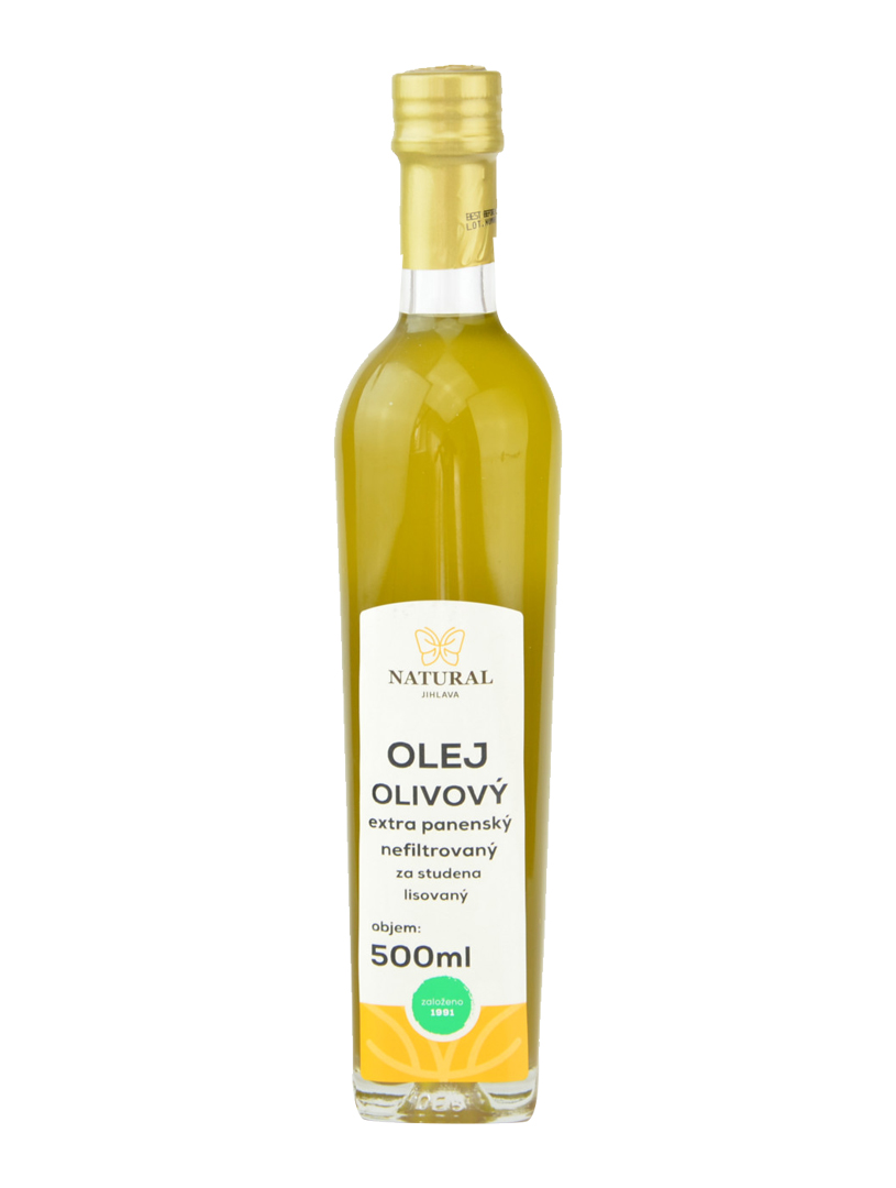 Olivový olej extra virgin 500ml Natural