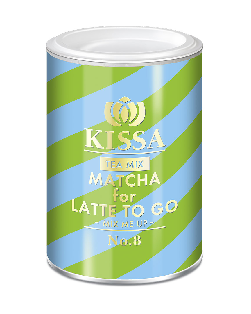 KISSA Tea mix - MATCHA pro LATTE TO GO 200g