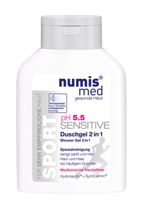 NUMIS MED SENSITIVE PH 5,5 SPORT Sprchový gel 2v1 200 ml