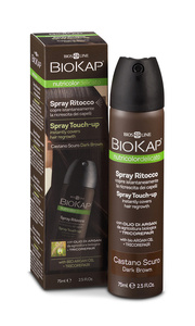 BIOKAP Nutricolor Delicato Spray Touch Up  - Hnědá tmavá - 75 ml