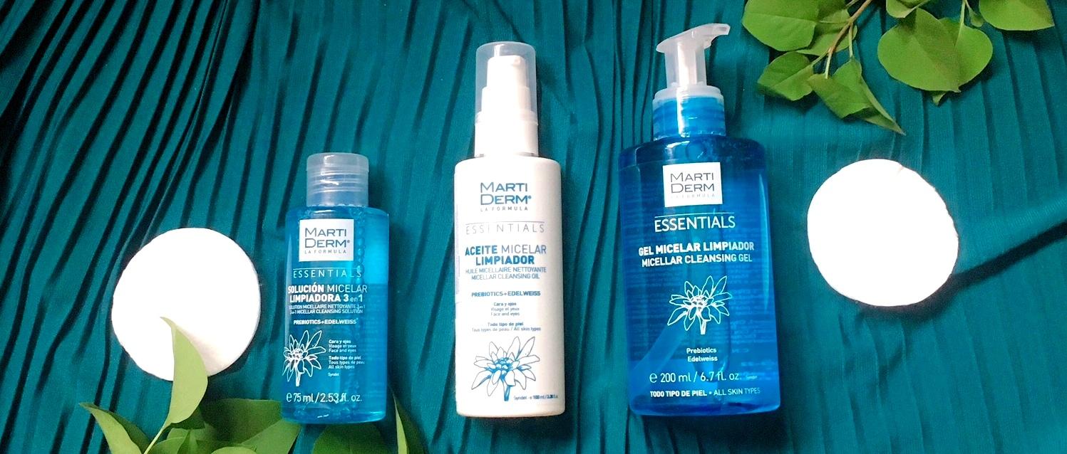 Martiderm Essentials: odličující a čisticí kosmetika pro náročné
